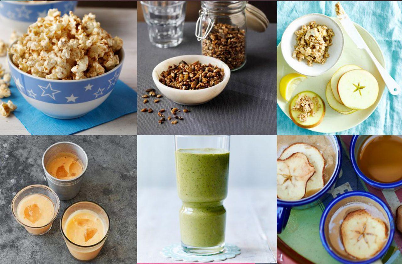Fiit and BBC Good Food healthy snacks